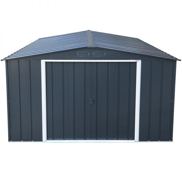 Sapphire 10x10 Metal Shed - Roof