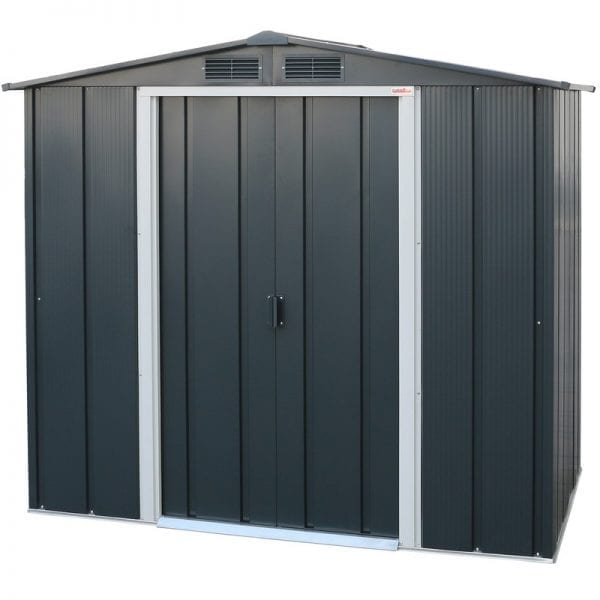 Sapphire 6x4 Metal Shed - Product Image