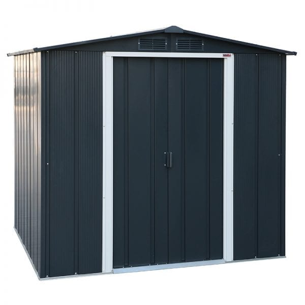 Sapphire 6x6 Metal Shed - Product Image