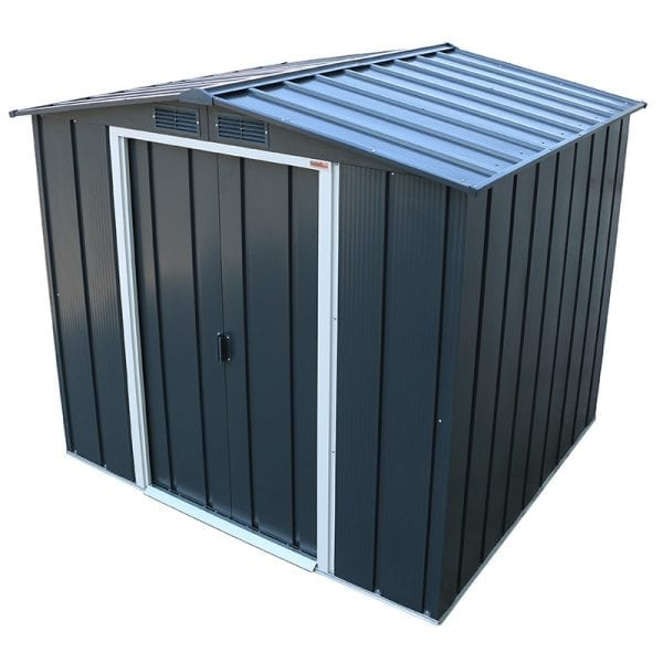 Sapphire 6x6 Metal Shed - Roof