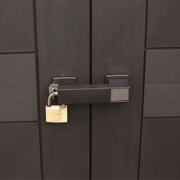 Keter Oakland 1175 - Lockable Doors