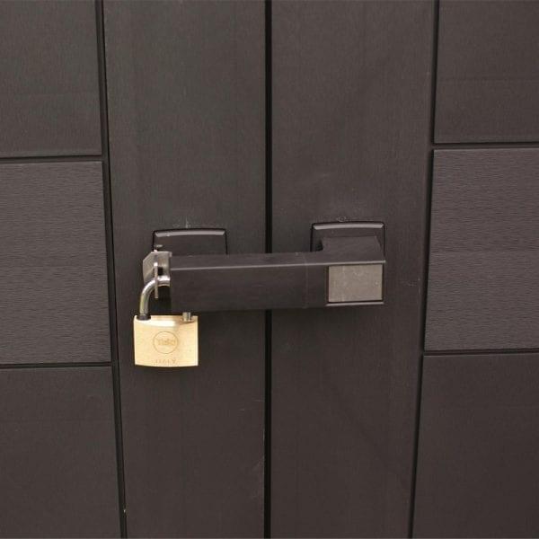 Keter Oakland 759 - Lockable Doors