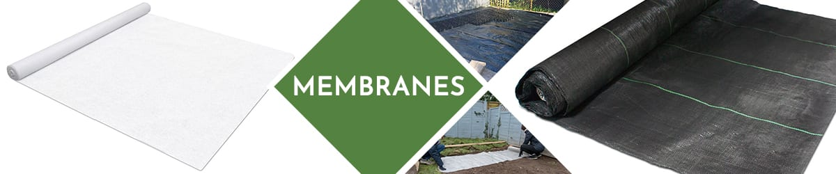 Membranes | Rolls & accessories for landscaping & gardening