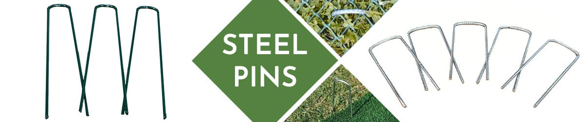Steel Pins | Ground Reinforcement Grid & Mesh Anchors