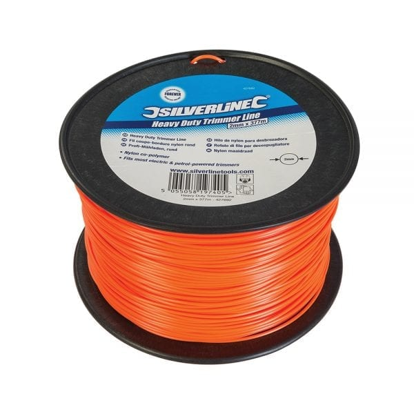 Heavy Duty Trimmer Line 2mm x 377m