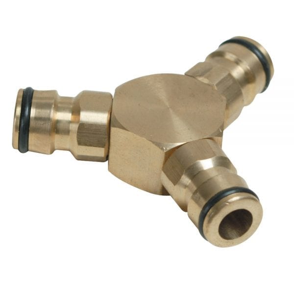 3-Way Connector Brass