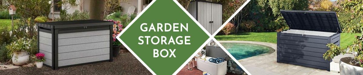 Garden Storage Box | Outdoor Storage Boxes