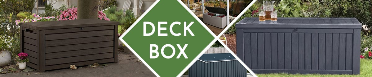 Deck Box | Outdoor Storage Deck Boxes