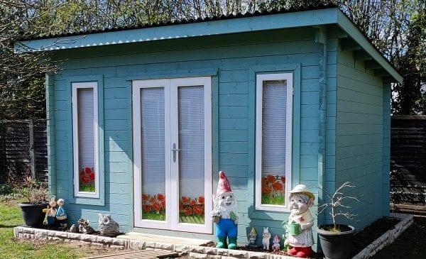 Edinburgh Log Cabin - Completed