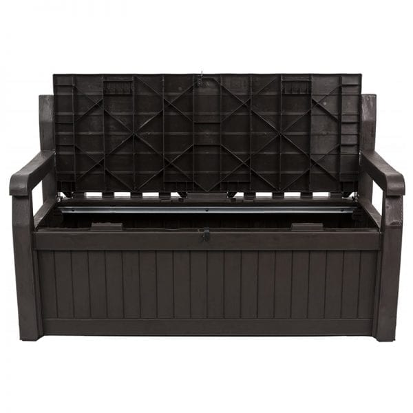Iceni 265L Storage Bench - Product Image Open