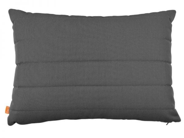 Deco Garden Cushion with Lines - Carbon - 20-1384-R239