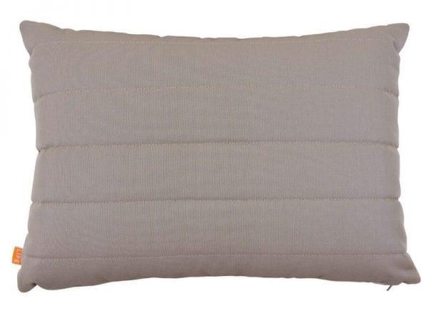 Deco Garden Cushion with Lines - Khaki - 20-1384-R210
