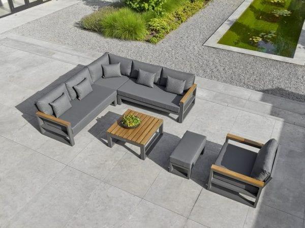 Soho Corner Sofa Set With Armrests - 2101