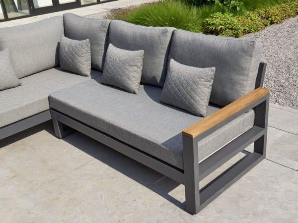 Soho Corner Sofa Lounge Set With Armrests - 2101 3