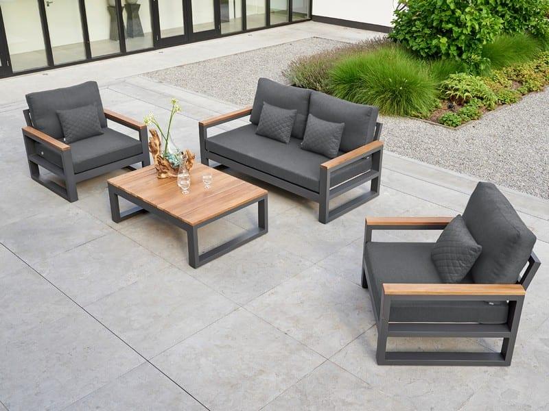 Garden Lounge Set | Grey Soho Garden Lounge Furniture