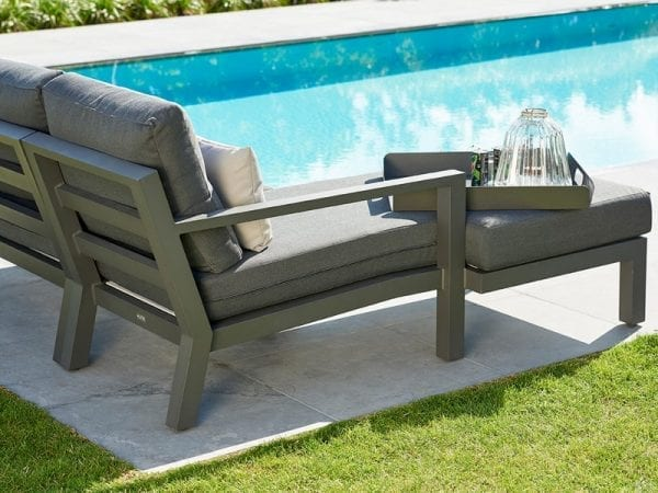 Timber Chaise Lounge Set 2134 5