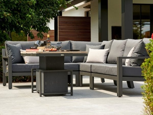 Timber Corner Sofa 2130 3