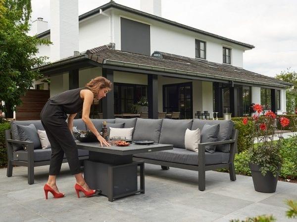 Timber Corner Sofa 2130 4