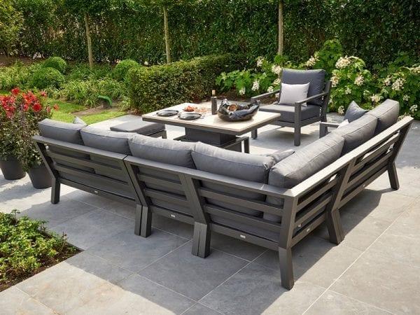 Timber Deluxe Corner Sofa 2131 3