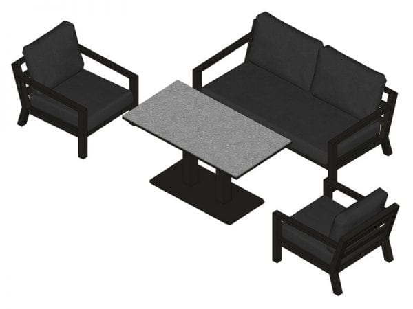 Timber Lounge Set 2132 5