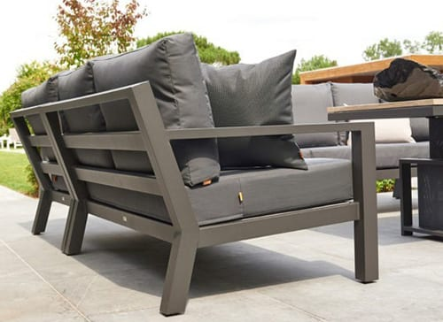 Timber Mini Corner Sofa Set 02