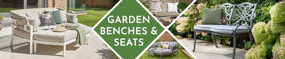 Garden Benches & Garden Seats | Garden Seating