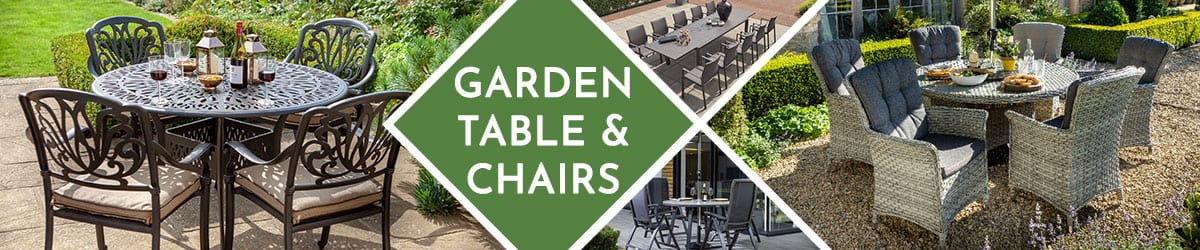 Garden Table and Chairs | Bistro Table and Chairs