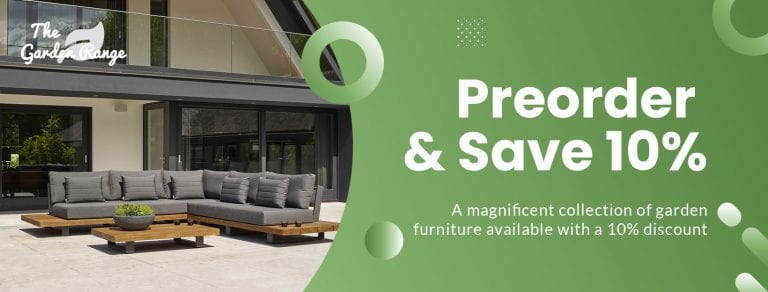 January Discount Garden Furniture 10% Off
