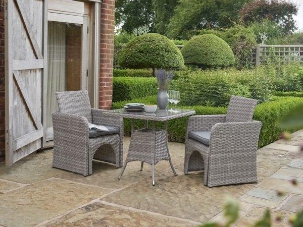 Morston 2 or 4 Seat Garden Dining Set - 2 Seats