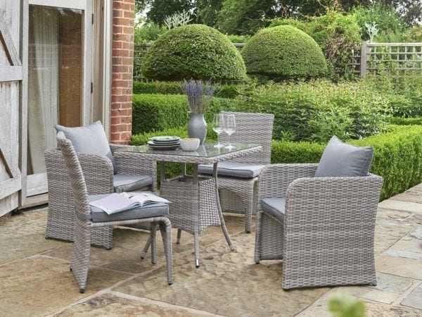 Morston 2 or 4 Seat Outdoor Dining Set - 4 Seats