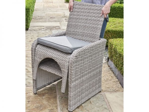 Morston 2 or 4 Seat Outdoor Dining Set - Close Up Of Chair