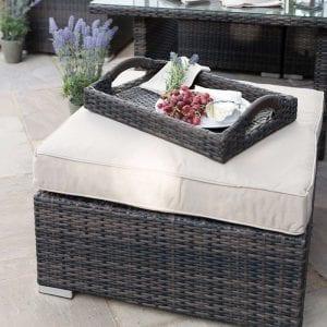 Footstool for Chelsea Corner Set - Brown