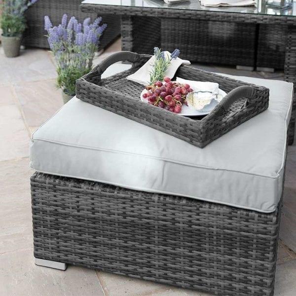 Footstool for Chelsea Corner Set - Grey