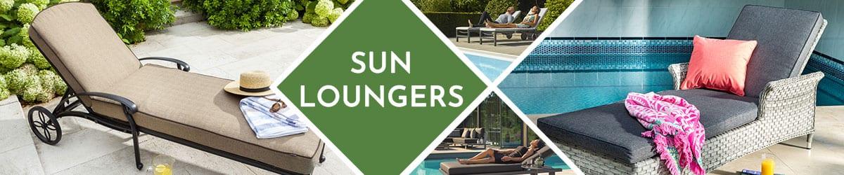 Sun Loungers | Reclining Sunlounger
