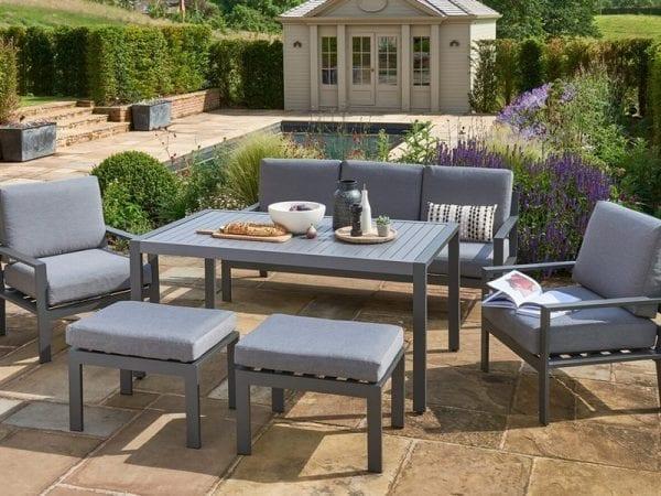 Titchwell Grey Lounge Set