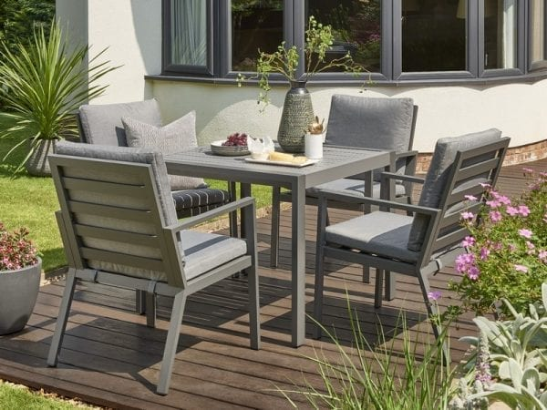 Titchwell Four Seat Garden Dining Set