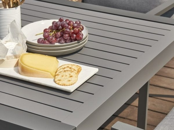 Titchwell Four Seat Outdoor Dining Set - Close Up