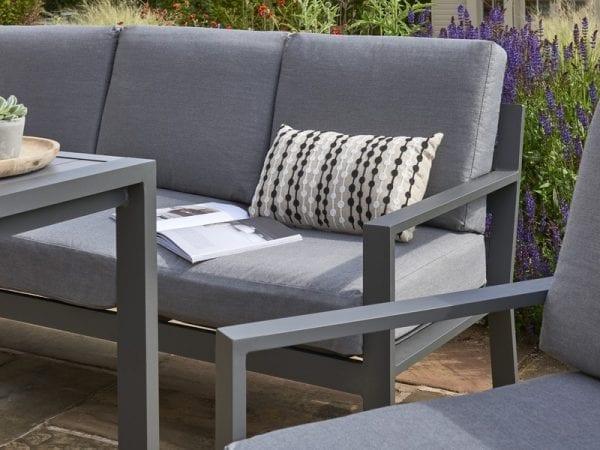 Titchwell Garden Corner Sofa Set - Close Up