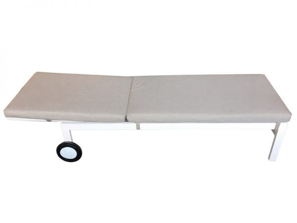 Titchwell Lounger White - 2
