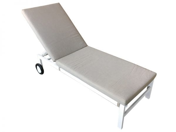 Titchwell Sun Lounger White