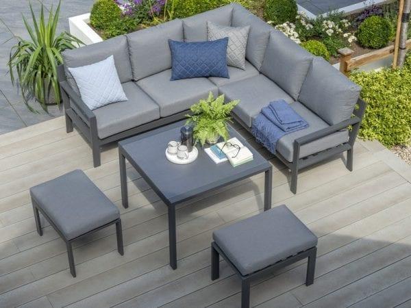 Titchwell Mini Corner Sofa Set With Standard Table