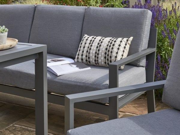 Titchwell Mini Corner Sofa Set With Standard Table - Close Up