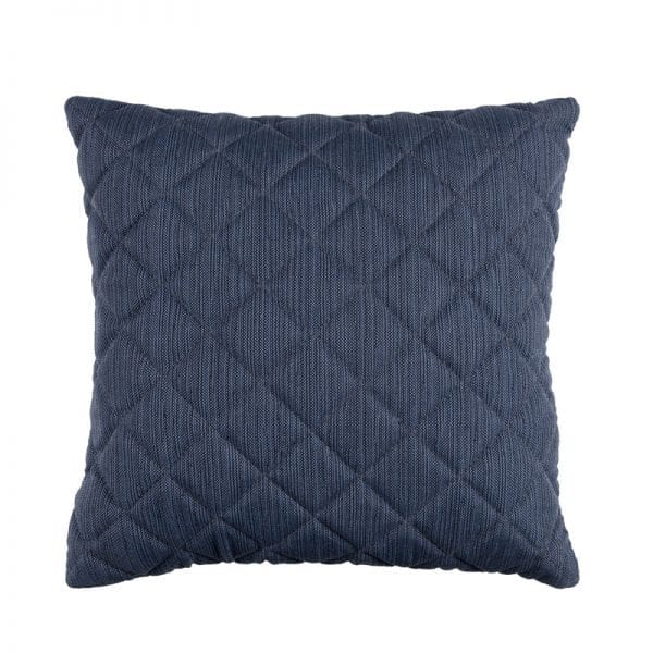 Titchwell Scatter Cushion - Dark Blue - Square