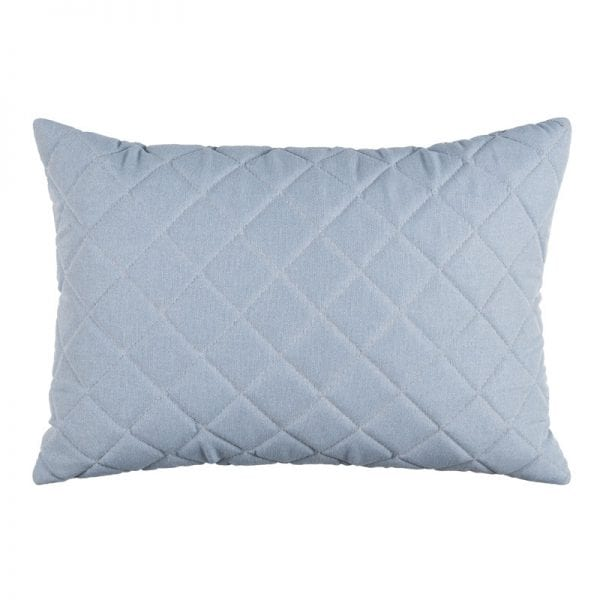 Titchwell Scatter Cushion - Light Blue - Rectangular