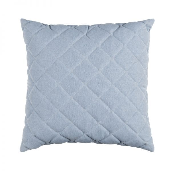 Titchwell Scatter Cushion - Light Blue - Square