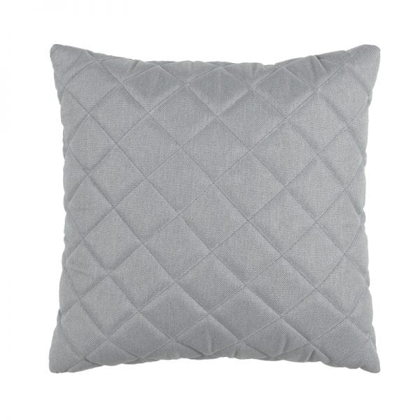 Titchwell Scatter Cushion - Light Grey - Square