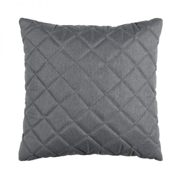 Titchwell Scatter Cushion - Mid Grey - Square