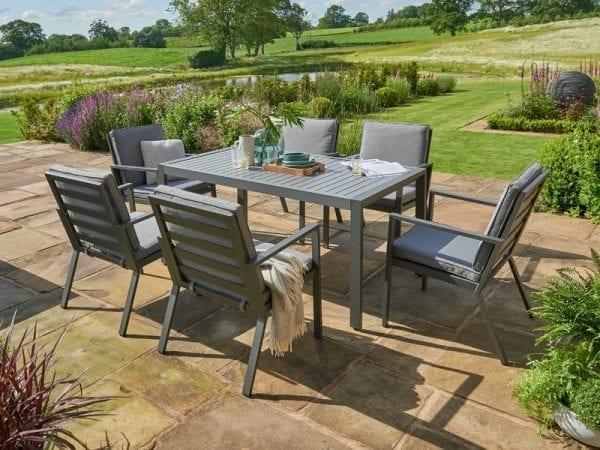 Titchwell Six Seat Garden Dining Set
