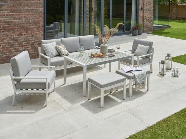 Titchwell White Lounge Set