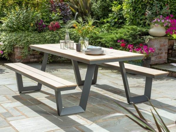 Wembley Picnic Bench - Natural Picnic Table